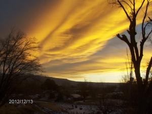 billow of sunrise