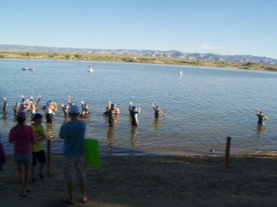 swimrs ready to start