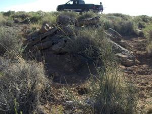 truck grave