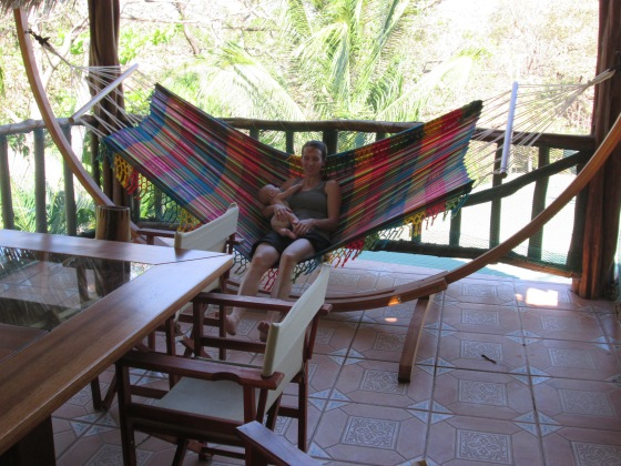 The hammocks -- mooy importante !