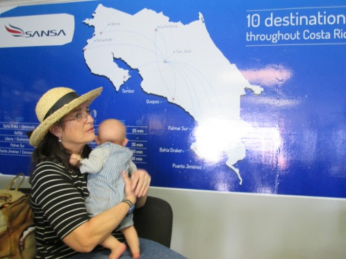 SANSA flies all over Costa Rica