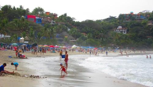 walk beach